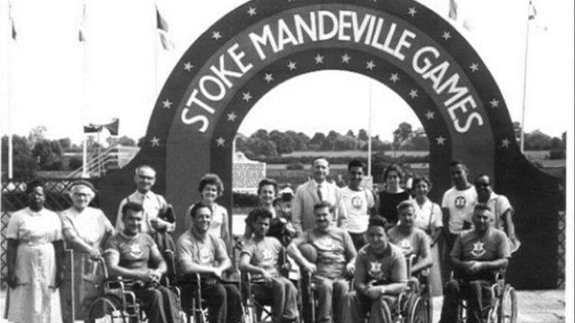 Photo Stoke Mandeville Games