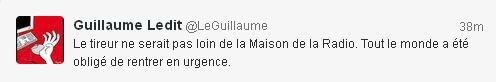 tweet Guillaume Ledit