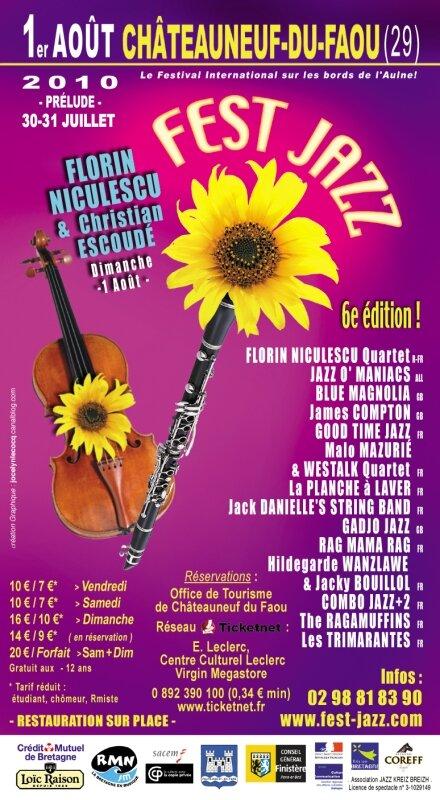 Encart publicitaire - 6e Fest Jazz