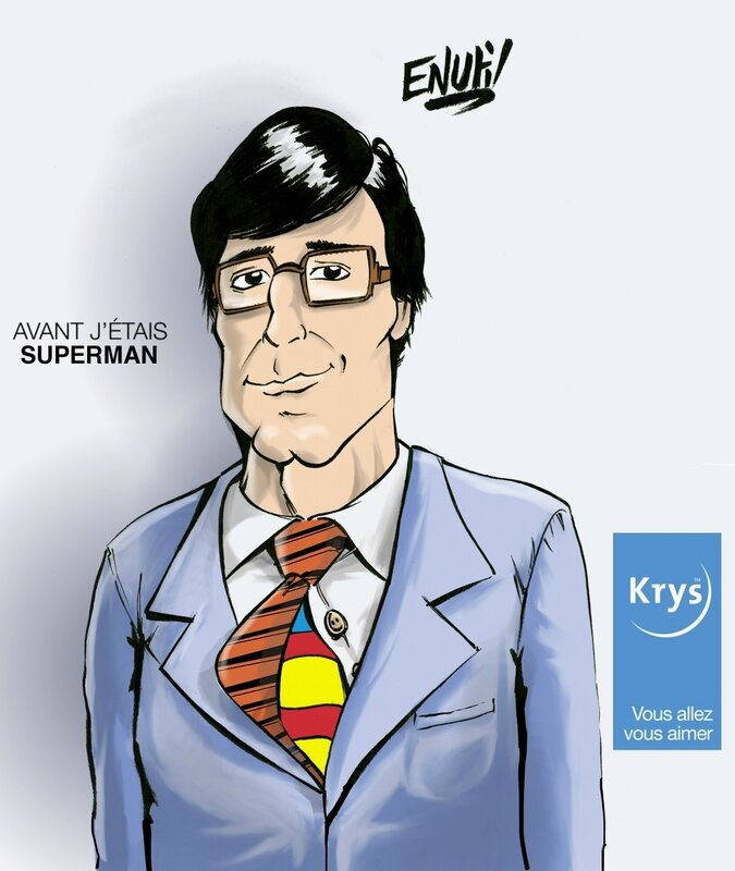 Pub Krys Superman