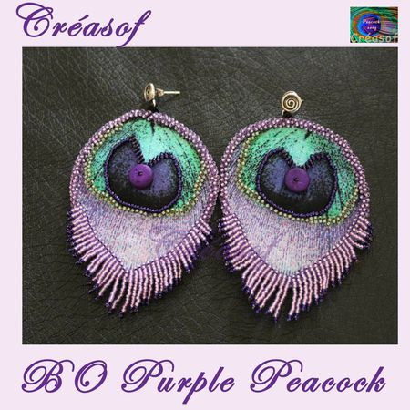 BO Purple peacock