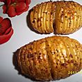 pommes de terre hasselback