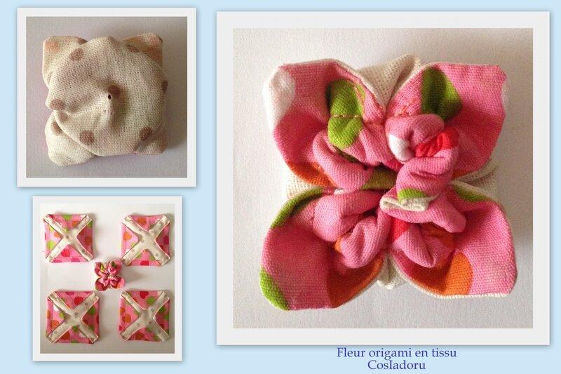 fleur origami tissu2