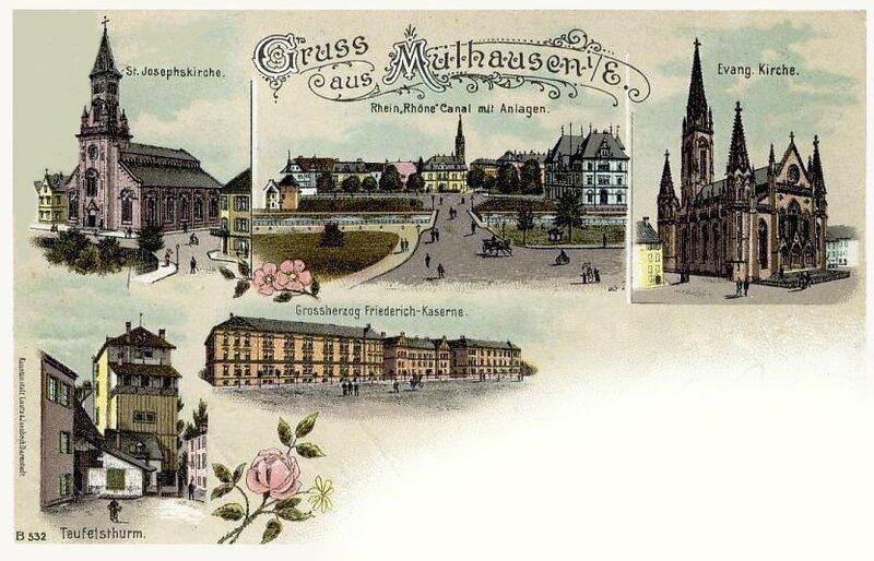 CPA Mulhouse