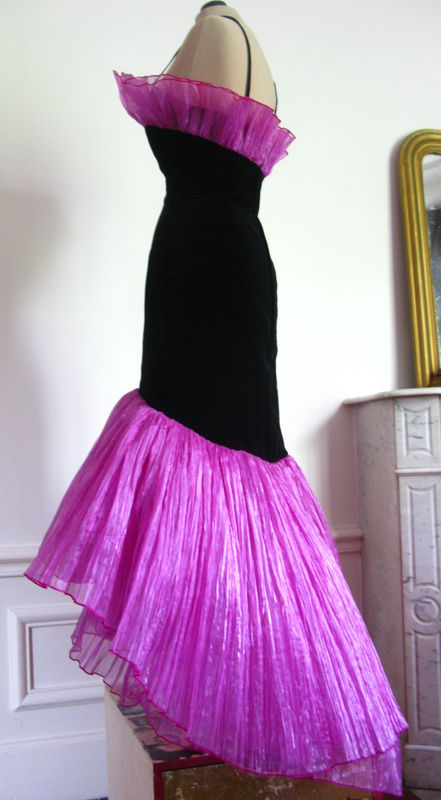 Robe rose taille 36