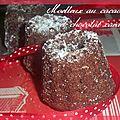Rond interblogs#24 :moelleux au cacao et chocolat caramel