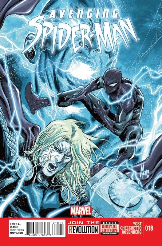 avenging spiderman 18