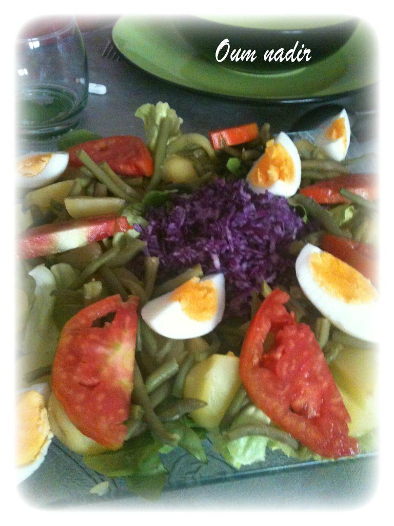 la salade du jardin