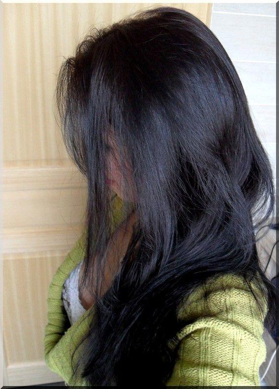 Coloration vegetale cheveux noirs