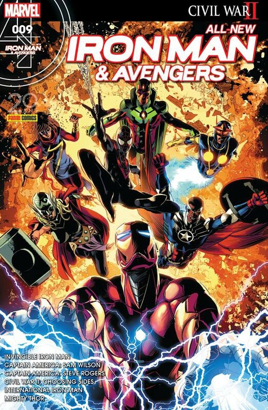 all new iron man & avengers 09