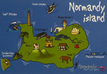 Heula Normandy island