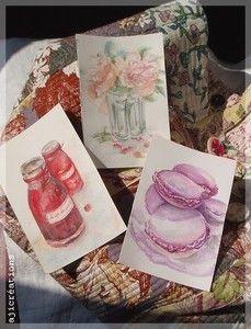 Petites aquarelles