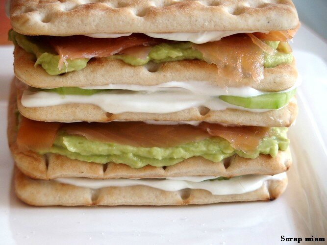 sandwich cake étape 2