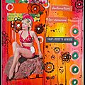 Destination vacances - art journal