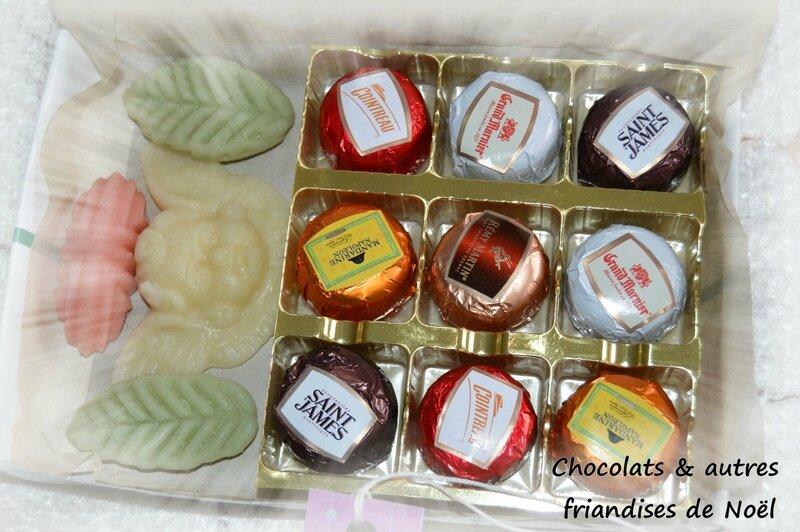 Chocolat & autres fiandises de Noël