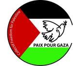 Paix pour Gaza 2 collectif freedom 30 mm