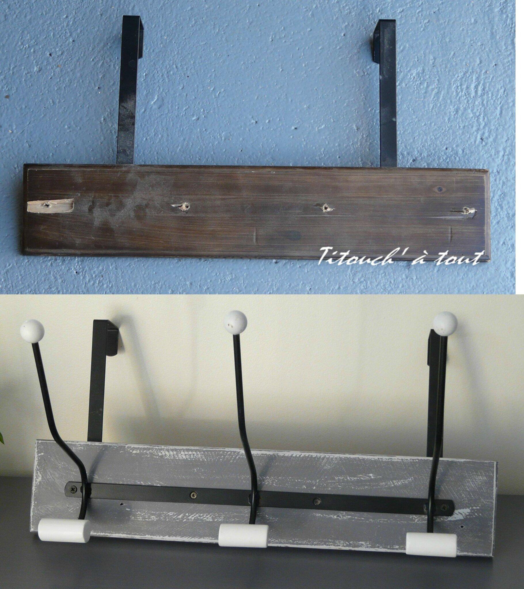 R parer un porte manteau avec du bois de palette et une for Reparer porte bois