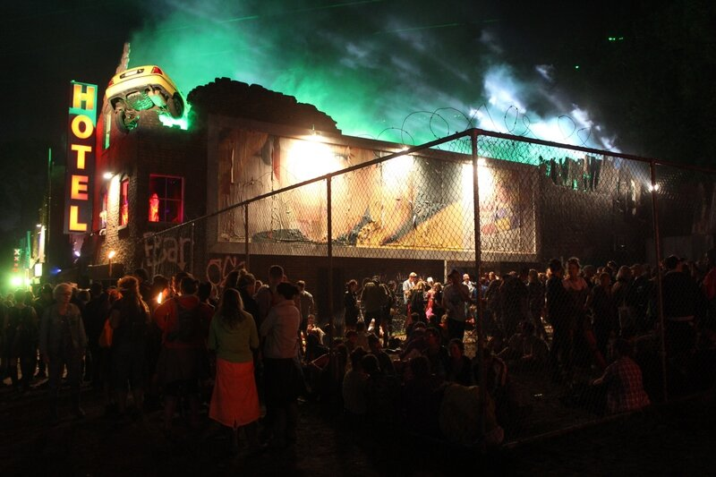 Glastonbury festival J+4 dimanche 28 juin 2015 block 9