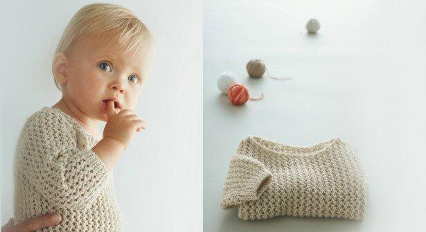 Un pull bébé pour fille ou garçon