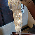 Comme quoi, du simple cristal peut habiller un escalier