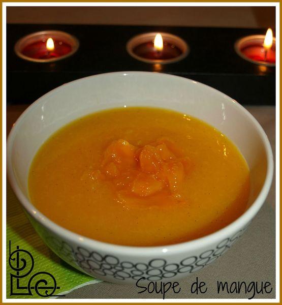 soupe de mangue 1