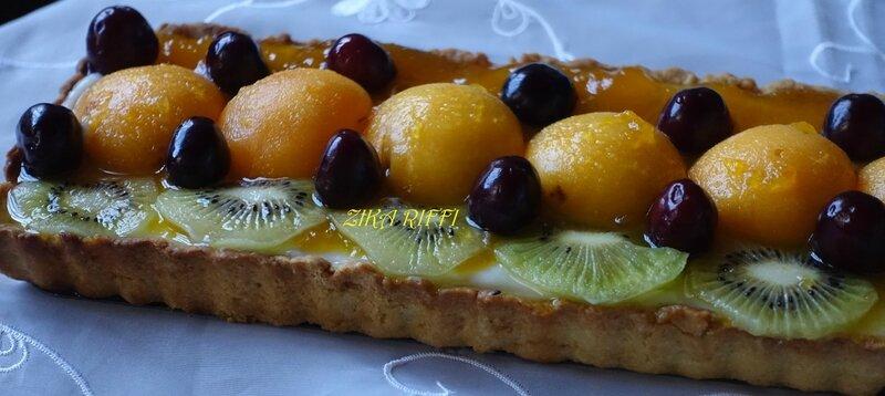 tarte cerise kiwi abricot2