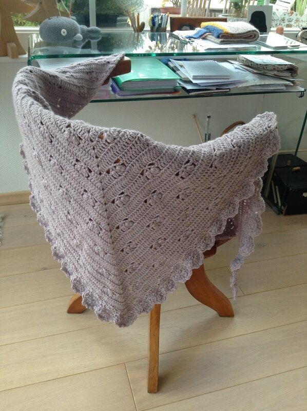 crocheted victoria shawl