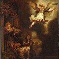 01 - L'Archange Raphaël quittant la Famille de Tobie