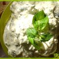 RILLETTES de COURGETTES  la MENTHE