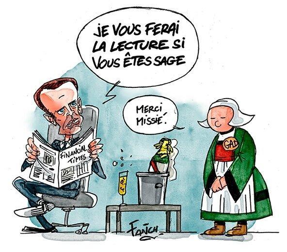 Macron, une fois élu, aura carte blanche pour installer son empire en détruisant toutes les infrastructures existantes...