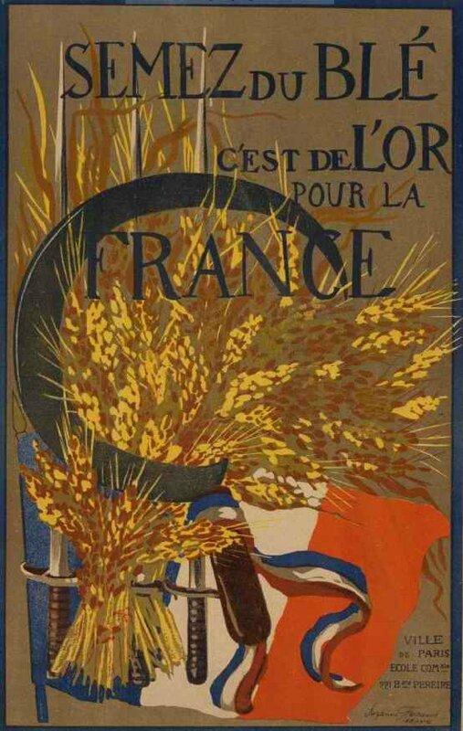 Semer du blé