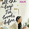 To all the boys i've loved before de jenny han (panini books)