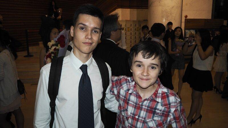 Damien et Florian