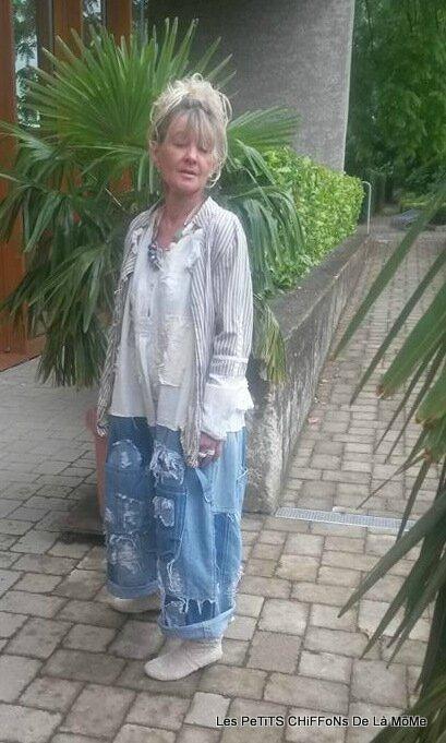 09-Sab en MP jumper jeans pièce unique trouvé pour son plus grand bonheur