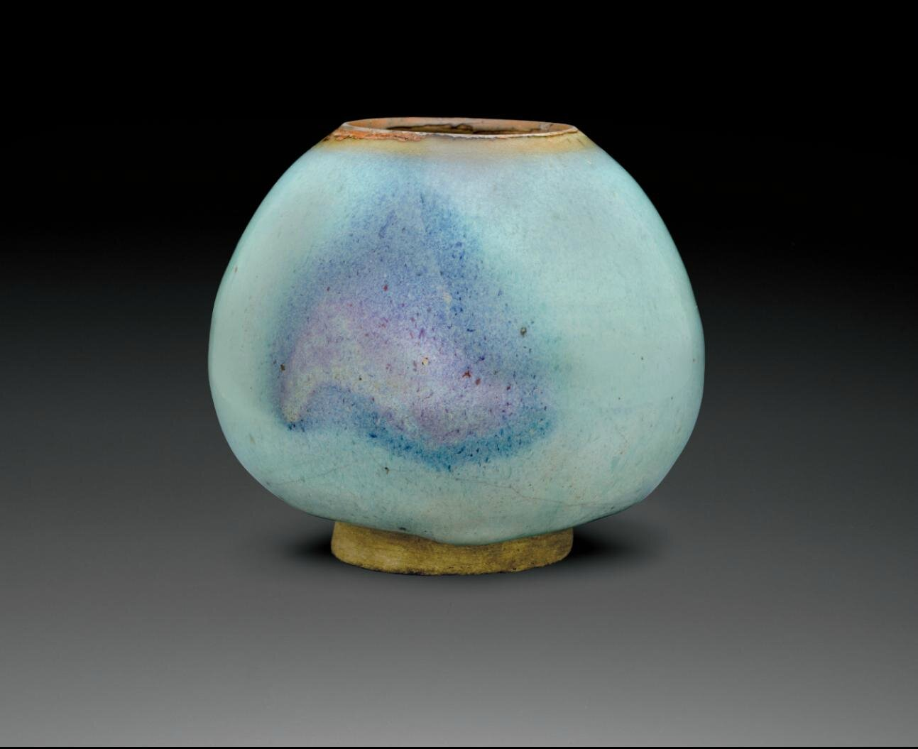 A large purple-splashed junyao water pot, Jin dynasty, 12th-13th century