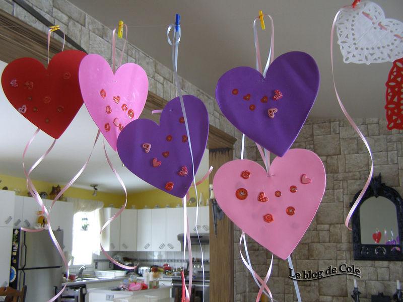 St valentin le blog de cole - Pinterest st valentin bricolage ...