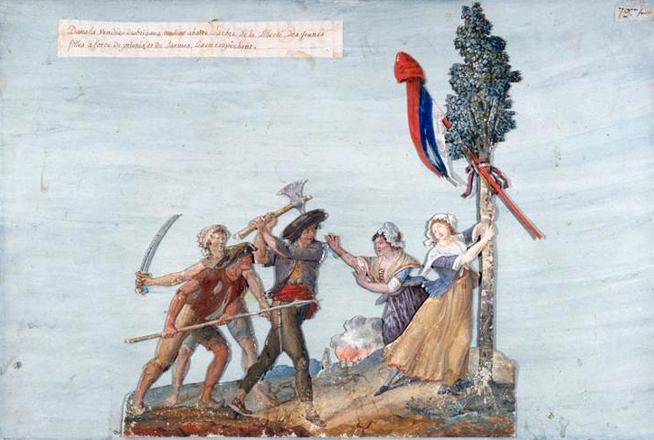 « Un malfaisant a abattu l'arbre de la liberté ! »