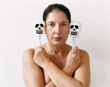 Jason Schmidt, Marina Abramovic, 2005. C-Print, 16 x 20 inches, 3 of 7. Courtesy of the artist.