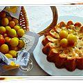 Menu du we: flan tomates basilic, bar au chorizo, gâteau lorrain aux mirabelles