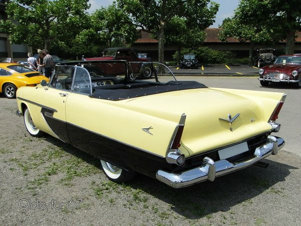 plymouth belvedere convertible 1956 4