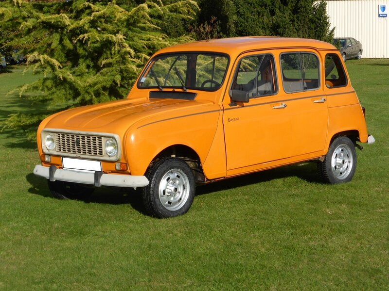 je vends ma renault 4 savane du 100092 kms bon tat int ext pas de corrosion t l. Black Bedroom Furniture Sets. Home Design Ideas