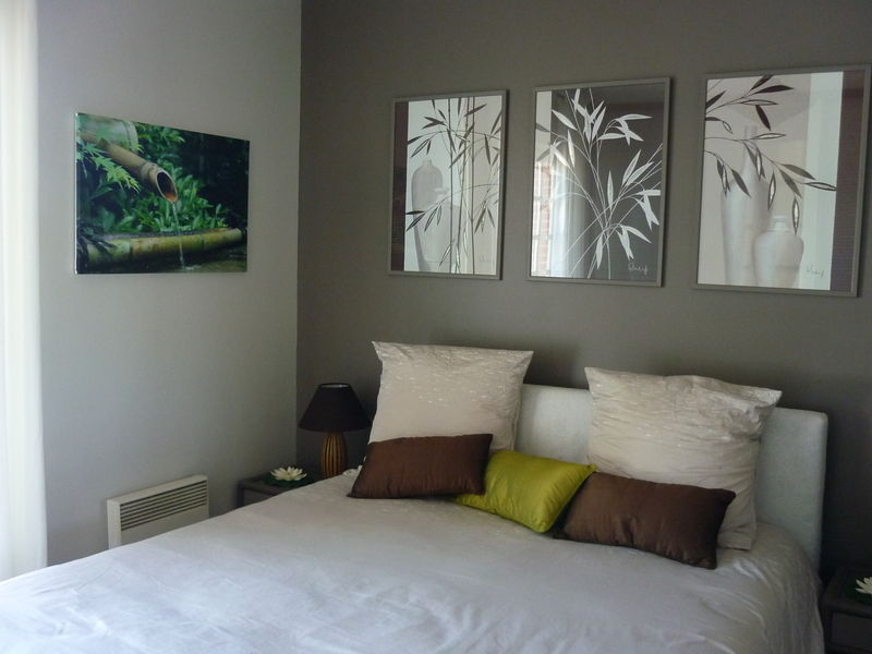 Photo 5 photo de chambre parentale ambiance zen decor for Idee decoration chambre parentale