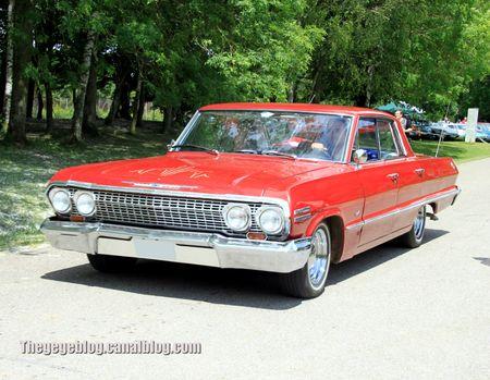 Chevrolet impala sport hardtop sedan de 1963 (Retro Meus Auto Madine 2012) 01