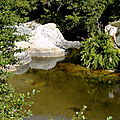 Vasques, Sablons, roches polies - Route de Surbuddà