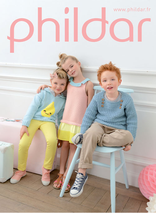 PHILDAR - MODELES PRINTEMPS ETE 2014 - CATALOGUE