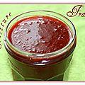 Confiture de fraises allégée (thermomix)