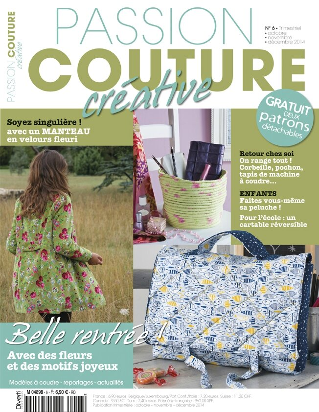Passion couture créative N°6...