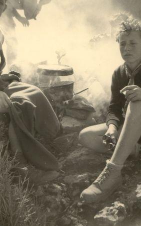 43 tbg gérard muller, cp des cigognes, février 1952