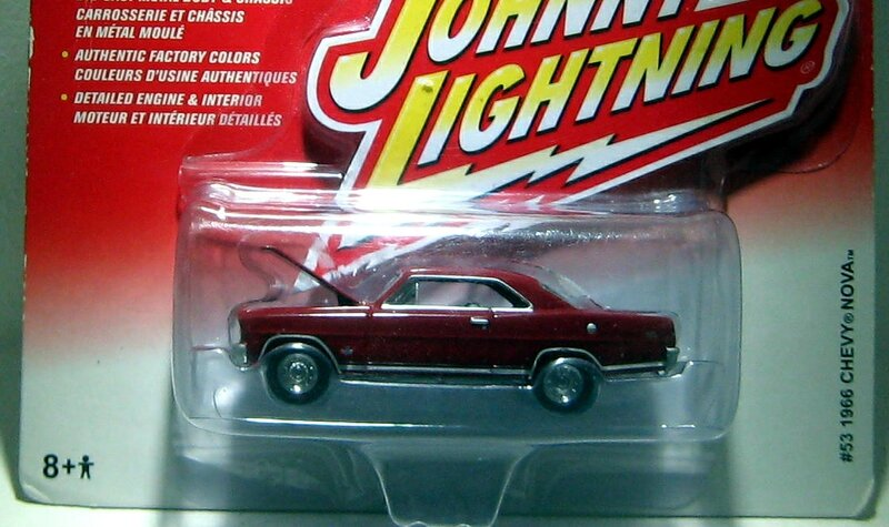 Chevrolet chevy nova de 1966 (Johnny Lightning)