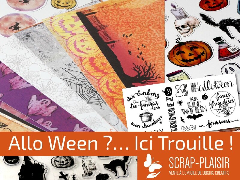 Halloween!!! chez Scrap Plaisir